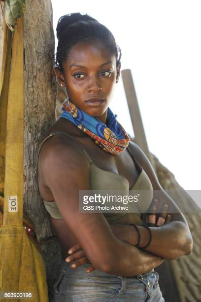 'I Don't Like Having Snakes Around' Desiree Williams on the fourth episode of SURVIVOR 35 themed Heroes vs Healers vs Hustlers airing Wednesday...