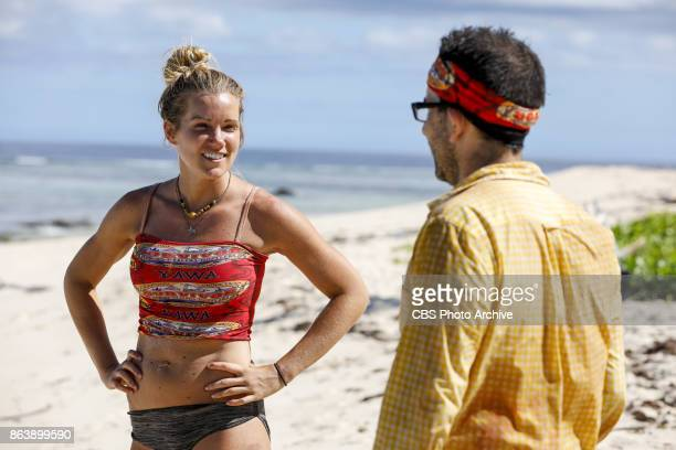 'I Don't Like Having Snakes Around' Jessica Johnston and Mike Zahalsky on the fourth episode of SURVIVOR 35 themed Heroes vs Healers vs Hustlers...