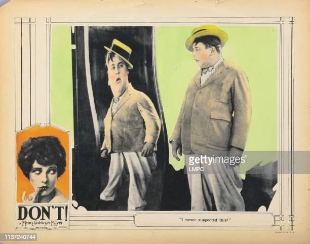 Don't lobbycard Sally O'Neill Bert Roach 1925