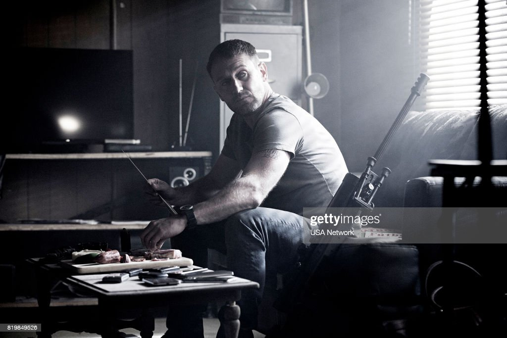 SHOOTER -- 'Don't Mess With Texas' Episode 203 -- Pictured: Josh Stewart as Solotov --