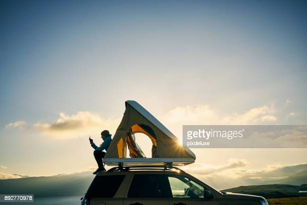 i don't need therapy, i just need camping - camping stock photos and pictures
