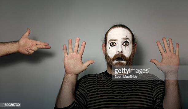 don't say a word ! ! - mime stock photos and pictures