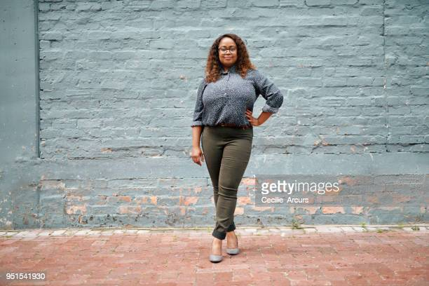 i don't settle for basic - voluptuous black women stock photos and pictures