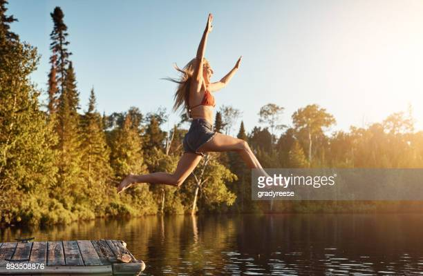 don't think, just do - leap day stock pictures, royalty-free photos & images