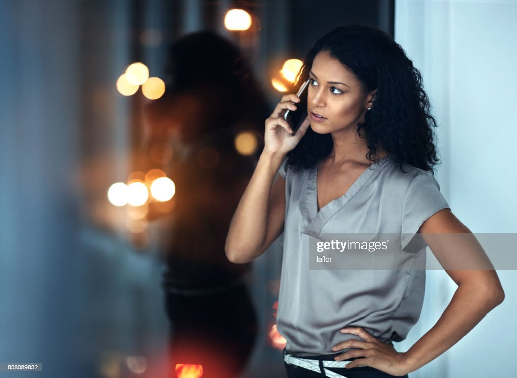 I don't want to hear excuses, just get it done : Stock Photo