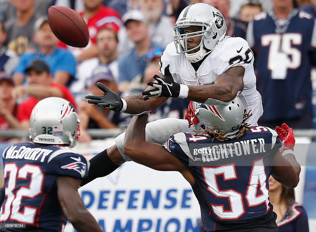 Oakland Raiders v New England Patriots