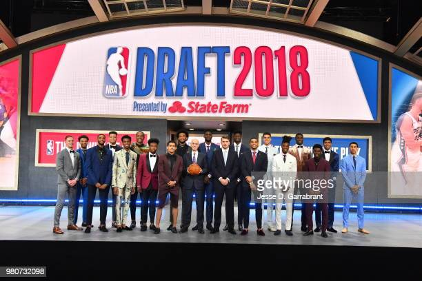 Donte DiVincenzo Jerome Robinson Mikal Bridges Kevin Knox Shai GilgeousAlexander Wendell Carter Jr Collin Sexton Trae Young Marvin Bagley III NBA...