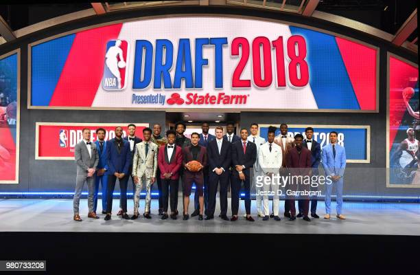 Donte DiVincenzo Jerome Robinson Mikal Bridges Kevin Knox Shai GilgeousAlexander Wendell Carter Jr Collin Sexton Marvin Bagley III Trae Young Deandre...