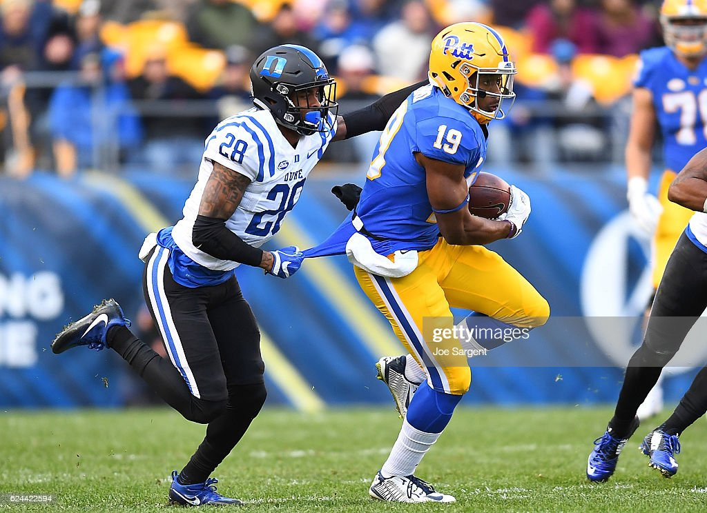 Duke v Pittsburgh : News Photo