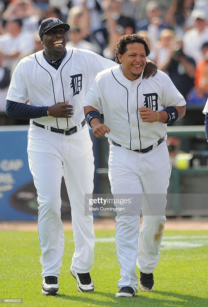 Cleveland Indians v Detroit Tigers : ニュース写真