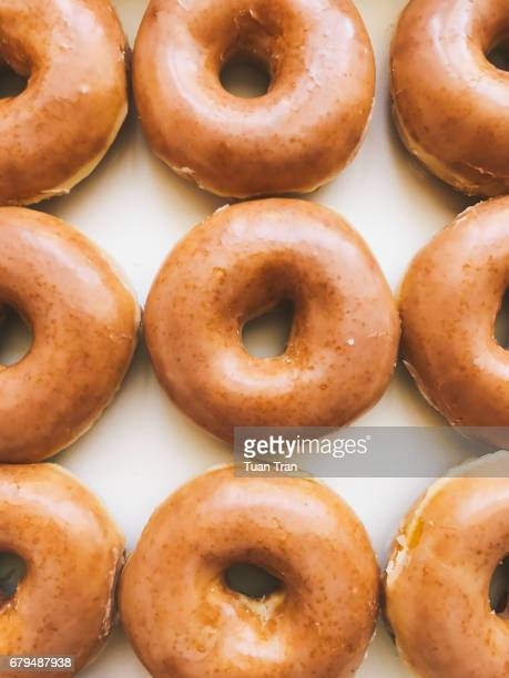 Donut close-up