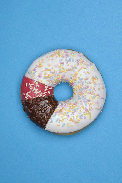 A Donut Made From Different Pieces Wall Art
