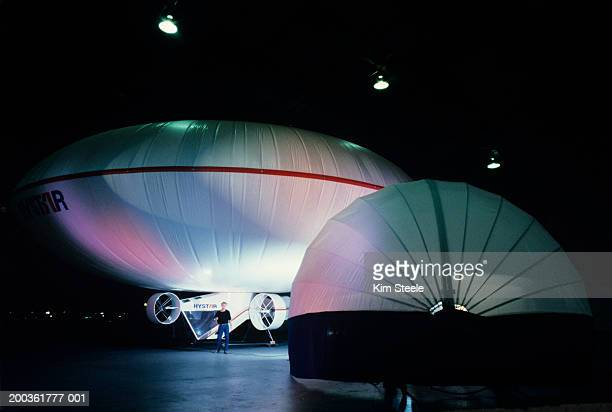 Donut-shaped Blimp used for Expo 87
