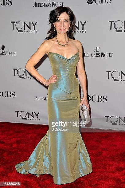Donyale Werle attends the 65th Annual Tony Awards at the Beacon Theatre on June 12 2011 in New York City