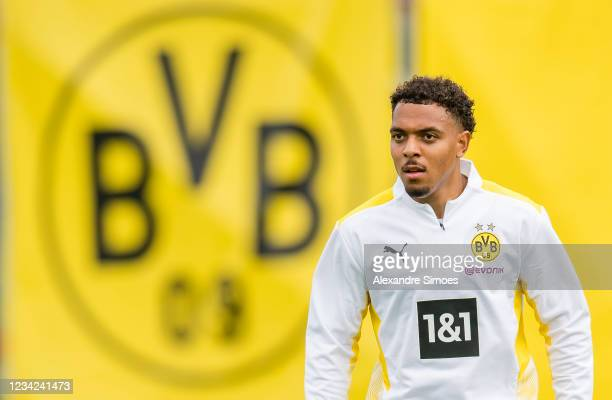 Donyell Malen during a training session as part of the training camp on July 27, 2021 in Bad Ragaz, Switzerland.