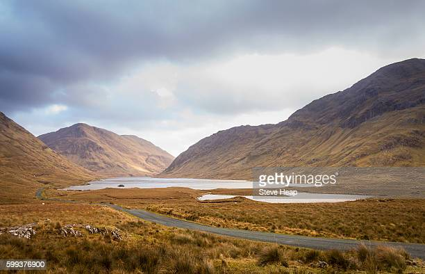doolough lake and valley, county mayo, republic of ireland, europe - site of the doolough tragedy during the irish potato famine - irish potato famine stock pictures, royalty-free photos & images