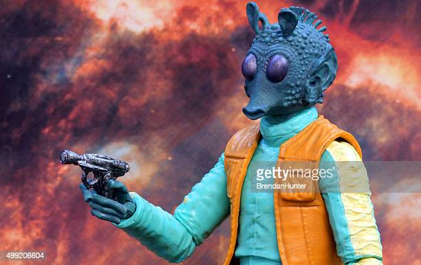 doomed hunter - jabba the hutt stock pictures, royalty-free photos & images
