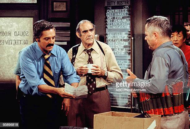 MILLER Doomsday Season Two 9/11/75 A disgruntled George Webber loaded with dynamite threatened to blow up himself Barney Fish and Yemana unless he...