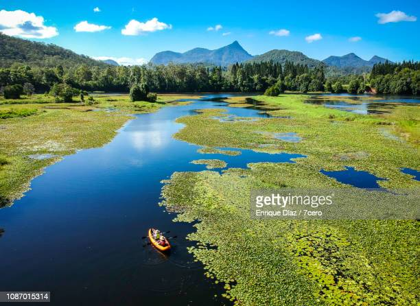 Doon Doon Creek in Crams Farm Reserve with a kayak