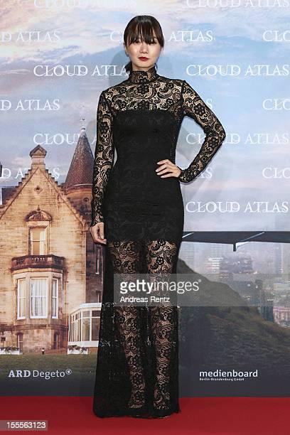 Doona Bae attends the 'Cloud Atlas' Germany Premiere at CineStar on November 5 2012 in Berlin Germany
