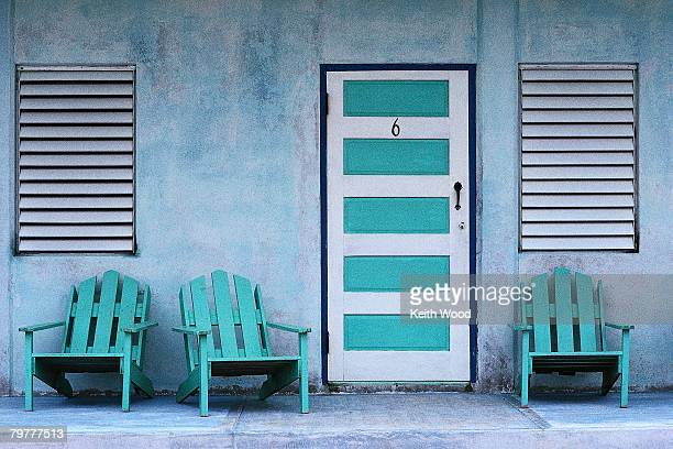 Door 6 of Blue Motel