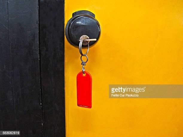 Door and key at Verona Italy