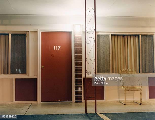 Door and Window of Motel Room