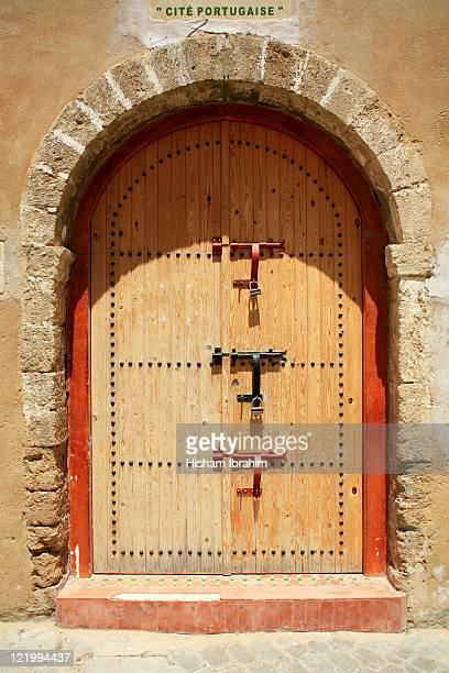 Door at Portuguese Fortress, El Jadida - Morocco