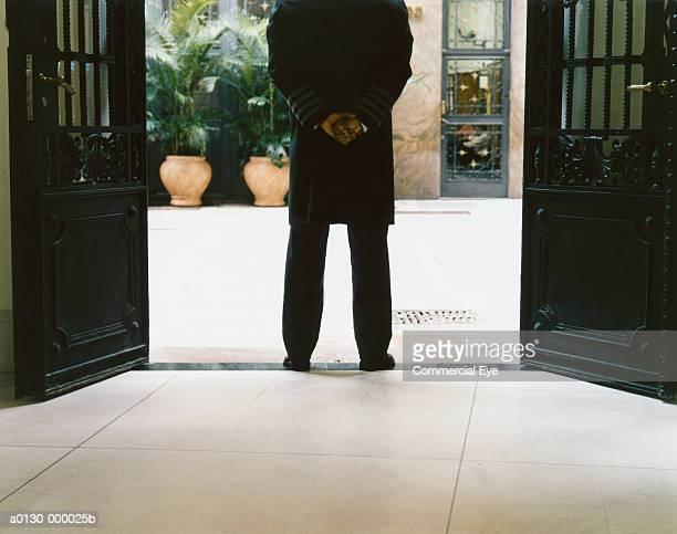 Door Attendant Standing