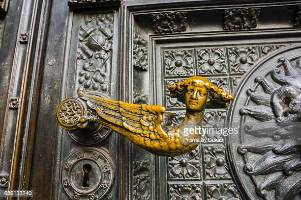 door handle at the cathedral in Cologne