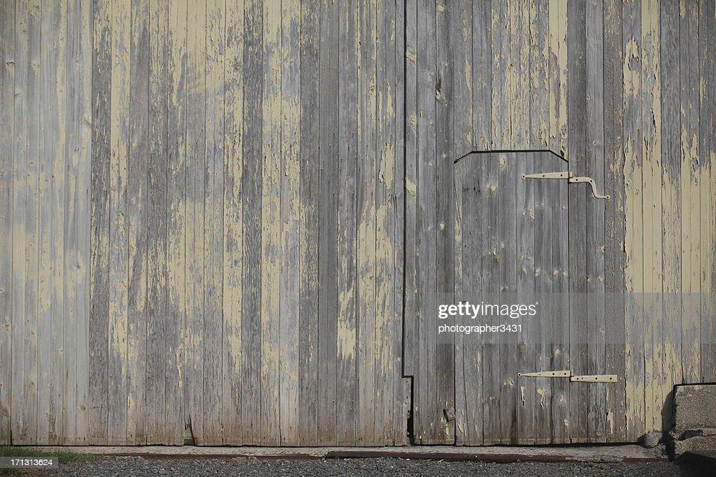 Porte dans un mur de La Grange : Photo