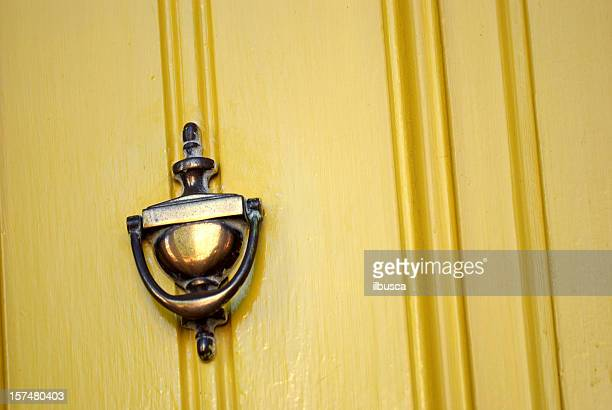door knocker - door knocker stock photos and pictures