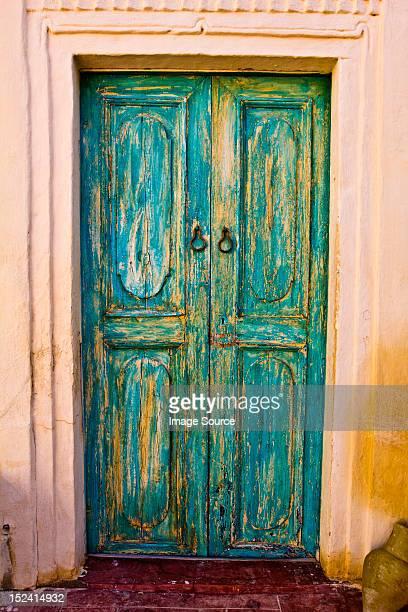 Door of hotel, Djerba, Tunisia