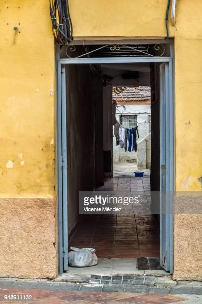 Door of humble home