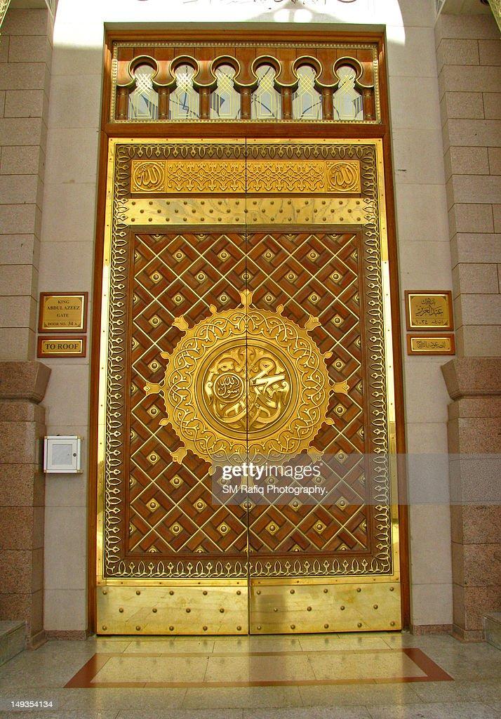 Door of Masjid E Nabvi  Stock Photo & Door Of Masjid E Nabvi Stock Photo   Getty Images pezcame.com