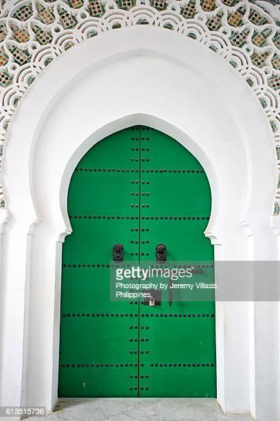Door of Mezquita de la Kasbah, Tangier
