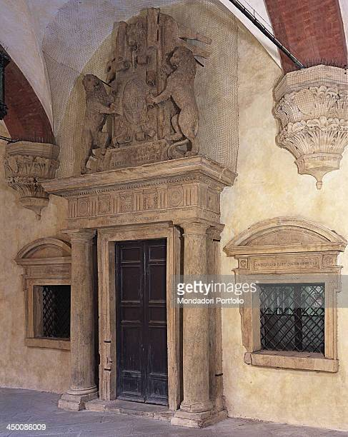 Door of the Tribunes by Barozzi Jacopo known as Vignola 16th Century 3 x 7 m circa