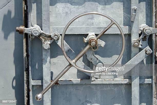 Door on an aircraft carrier