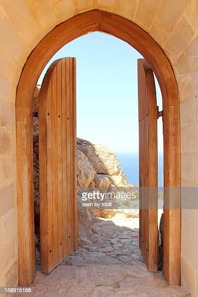Door - open to paradise