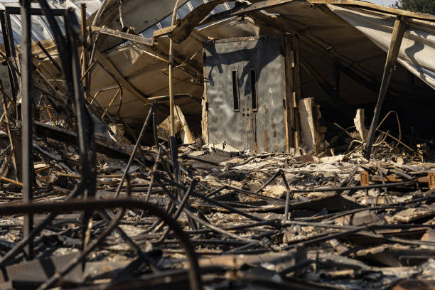 OR: Oregon Communities Devastated By Wildfires