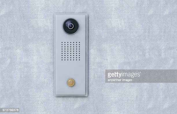 door security system with camera