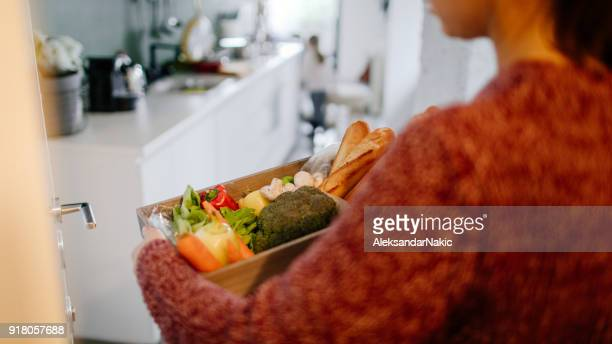 door to door grocery delivery - grocery delivery stock pictures, royalty-free photos & images