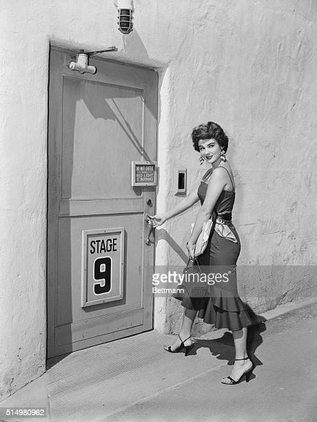 Door to fame was really opened for curvaceous Washington socialite Allison Hayes by Mrs Earl Warren wife of the Chief Justice of the Supreme Court At...