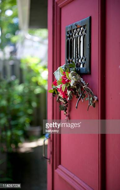 Tür zum Garten