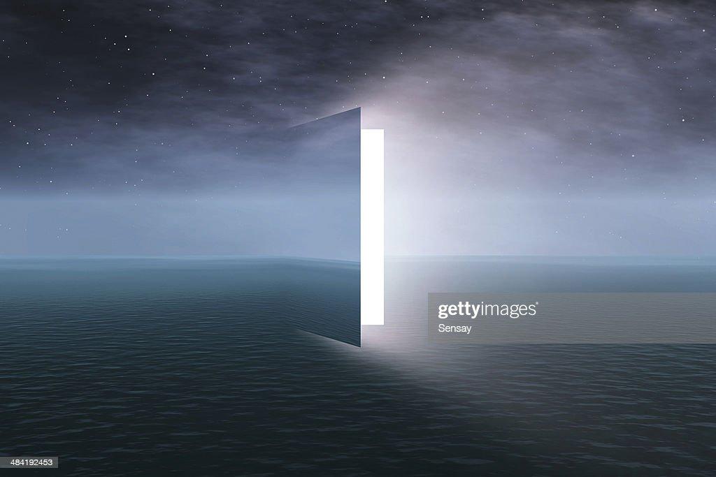 Door to heaven : Stock Photo