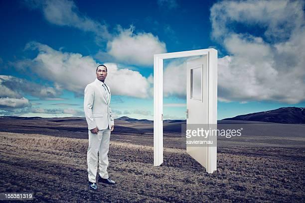 Door to the calm