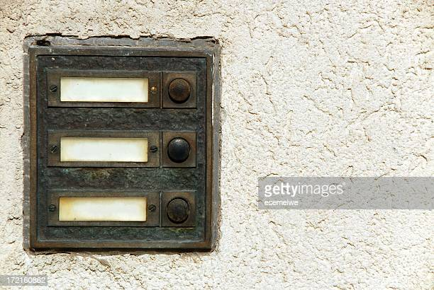doorbell - intercom stock pictures, royalty-free photos & images