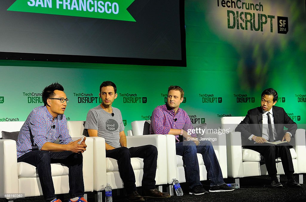 DoorDash Co-Founder and CEO Tony Xu, Good Eggs Founder and