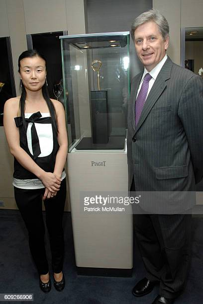 DooRi Chung and Larry Boland attend Preview of New Limited Edition Designs by DooRi for PIAGET at Piaget Boutique on July 25 2007 in New York City