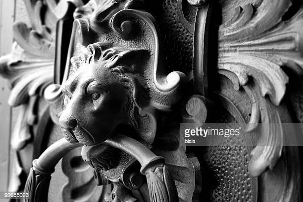 doorknocker - door knocker stock photos and pictures